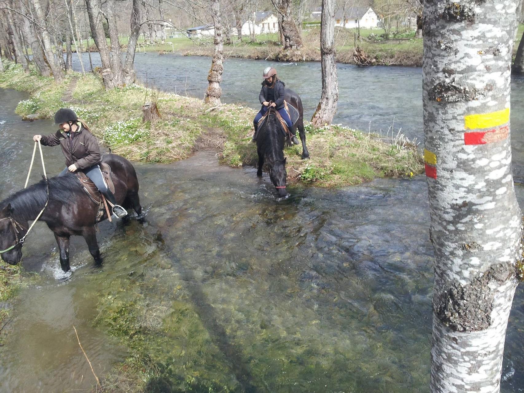 Balade à cheval Ariège