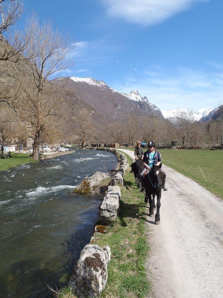 Balade à cheval Vallée d'Orgeix