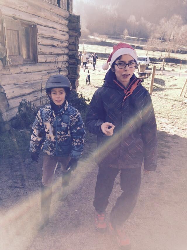 Lucas et julian qui m'ont bien aidé pour la mise en place