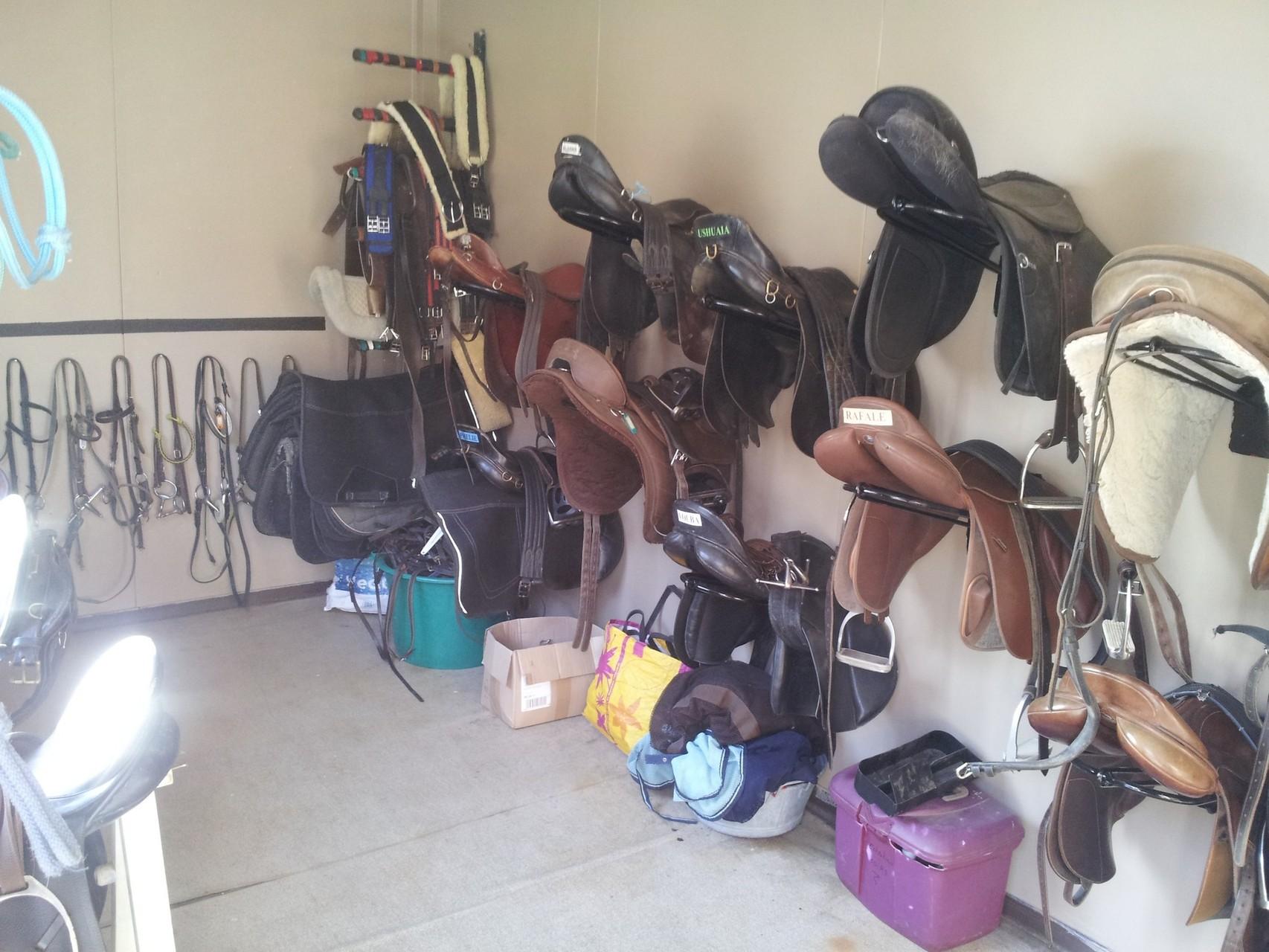 La sellerie des chevaux