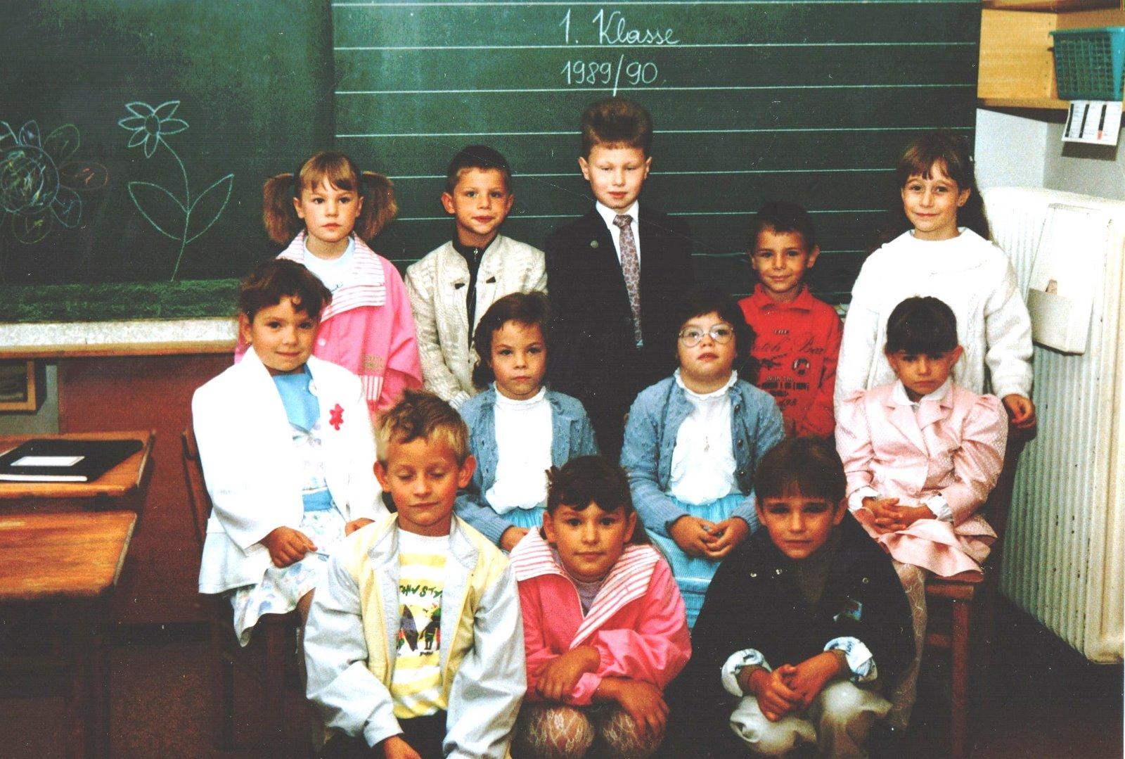 1989-90  1. Kl. (1./2. Schst.) ohne KL Gerhard Kappacher