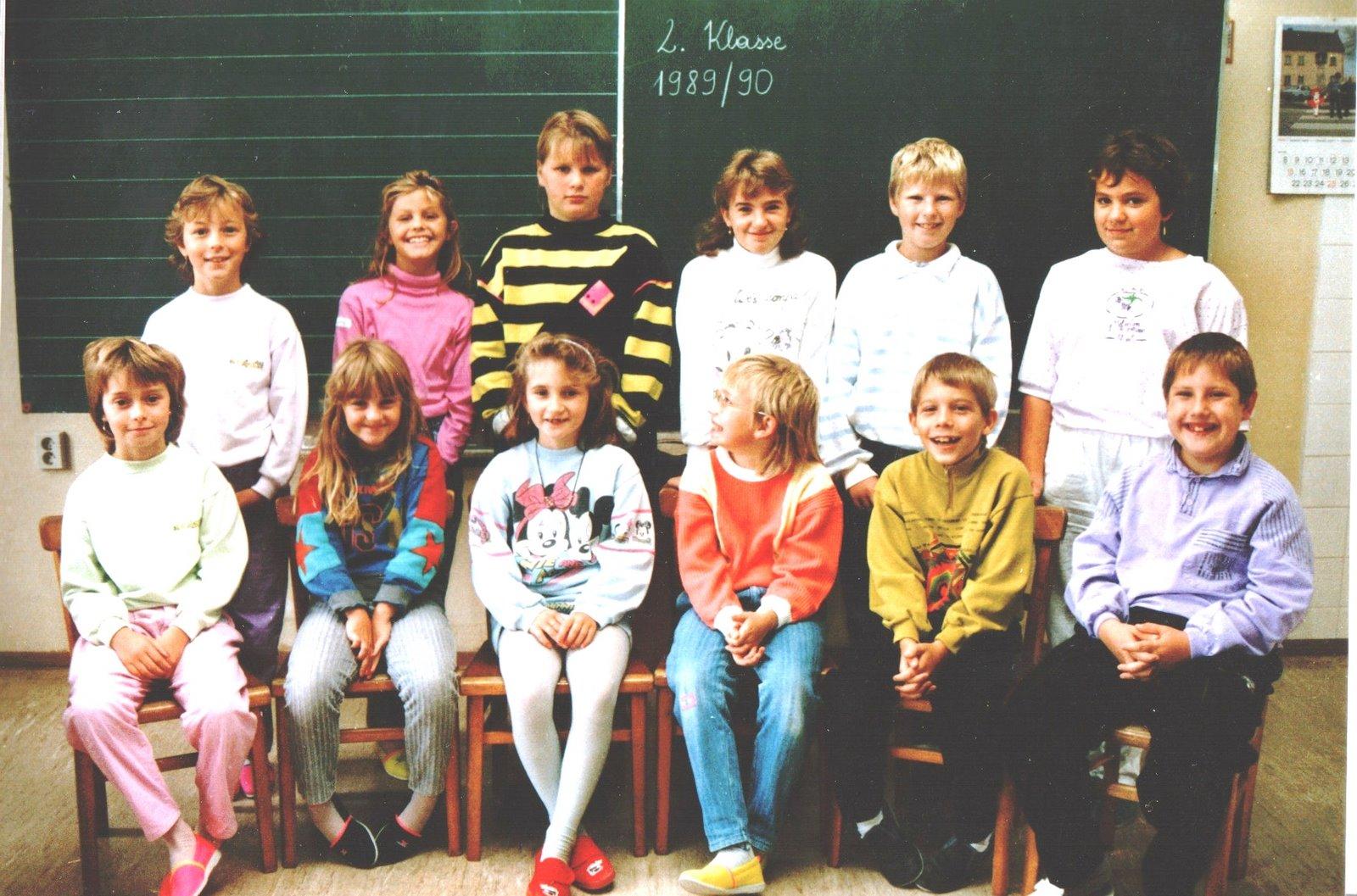 1989-90  2. Kl. (3./4. Schst.) ohne KL Michaela Riegler