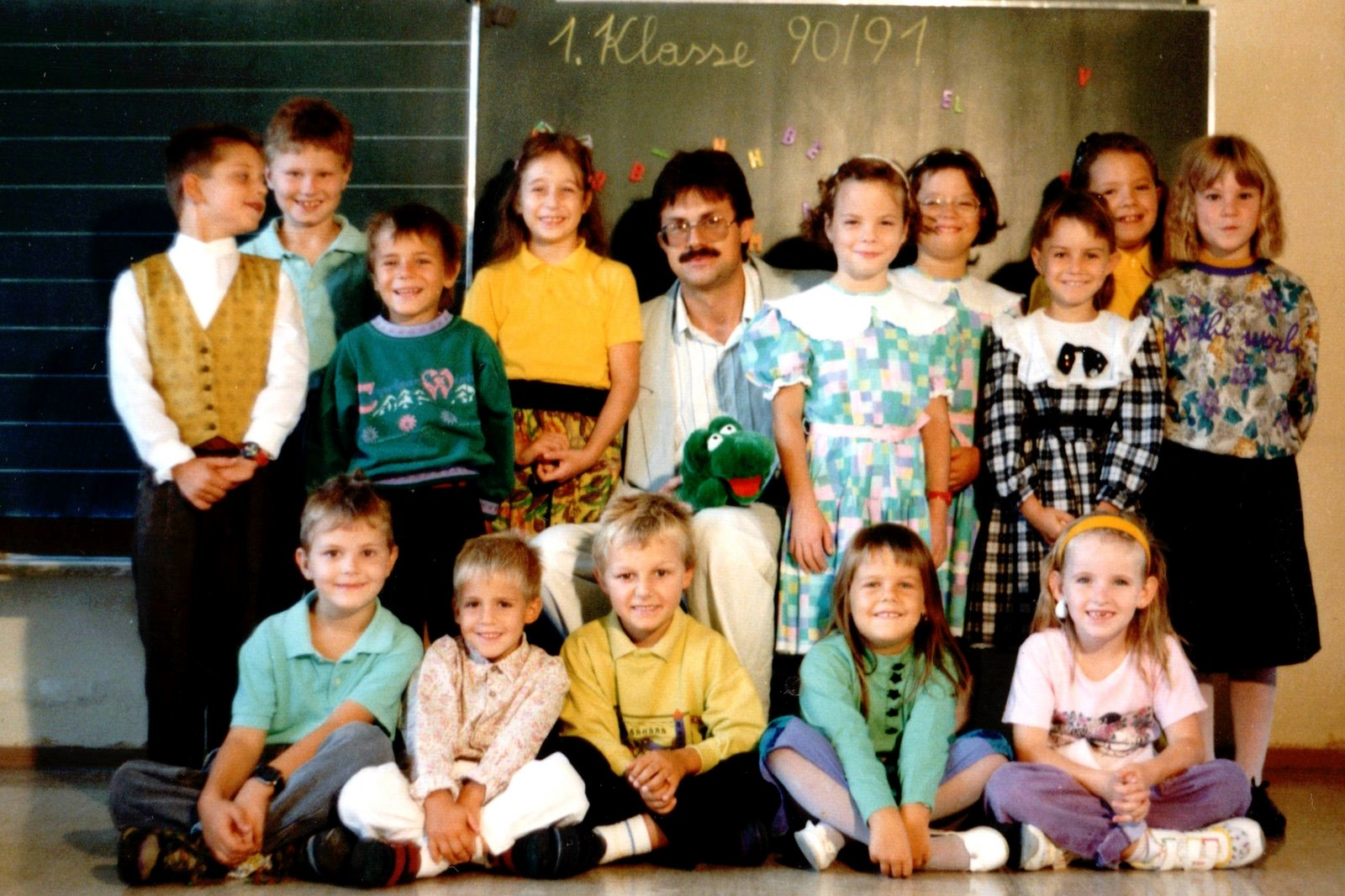 1990-91  1. Kl. (1./2. Schst.) mit KL Gerhard Kappacher