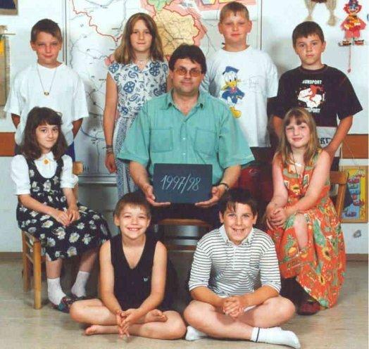 1997-98  1. Kl. (1.-4. Schst.) mit KL Gerhard Kappacher