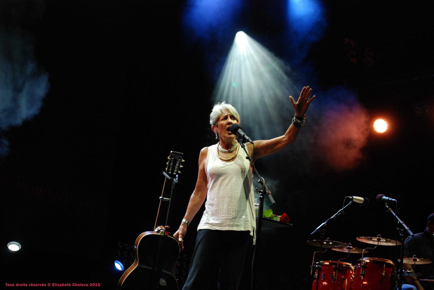 Joan Baez - Nuits du sud 2015
