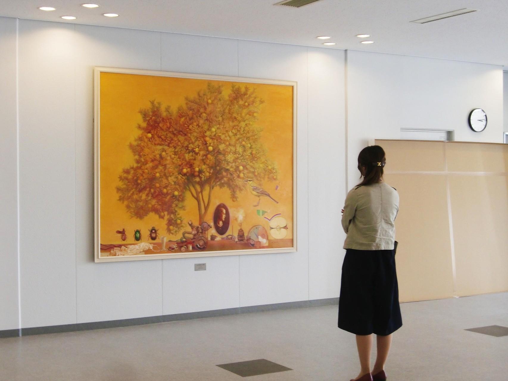 「LANDSCAPE 」150号 227×182cm 油彩 主体展 2009年 木村正恒  主体会員