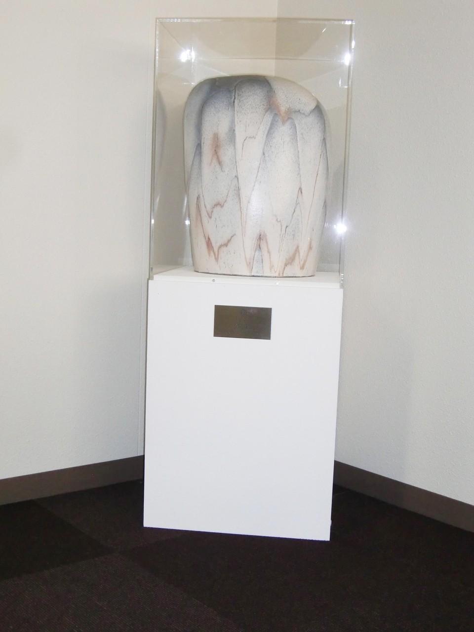 「翔」 49×33×25 ㎝ 陶芸 日展 2005年  谷口正典 日展会友