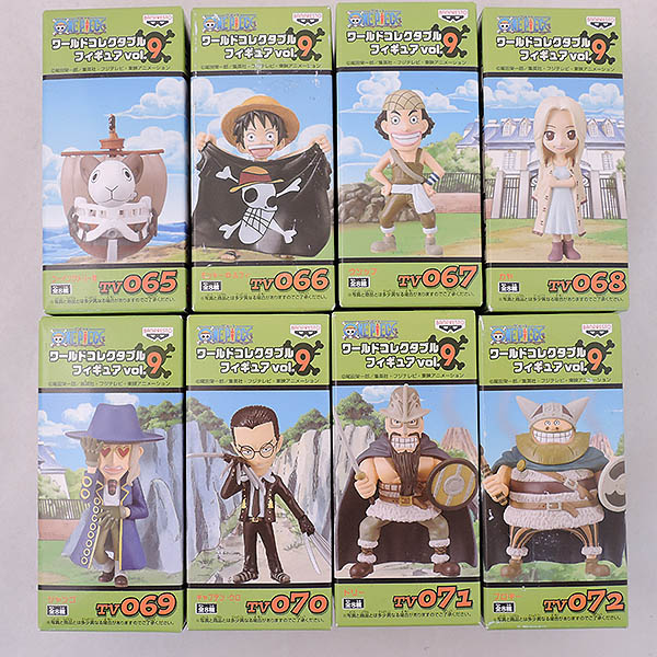 未開封◆ワンピース ワールドコレクタブルフィギュア Vol.9 全8種 倉敷玉島店で買取しました。