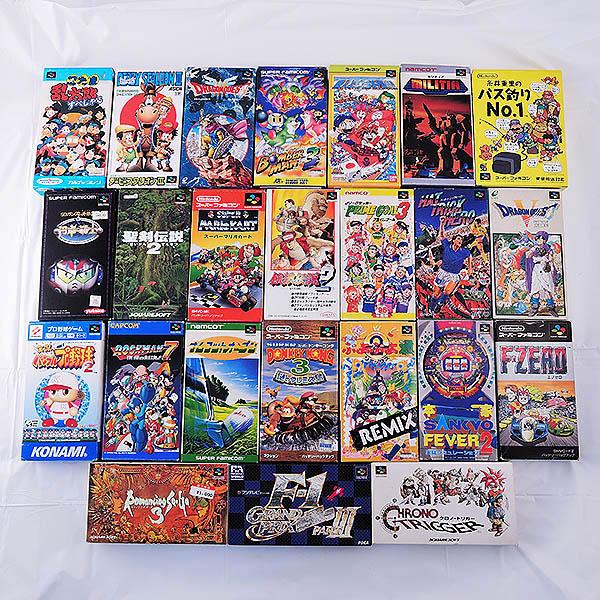 スーパーファミコン  24点 マリオカート ボンバーマン等  玉島店で買取しました。