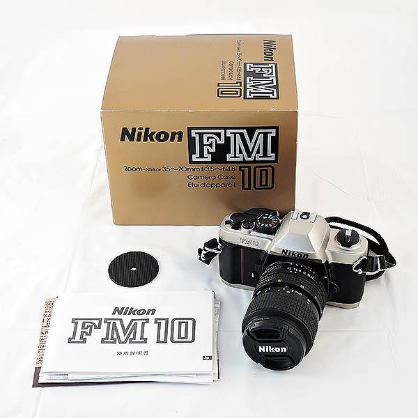 NIKON/ニコン◆フィルム 一眼レフカメラ FM10 倉敷玉島店で買取しました。
