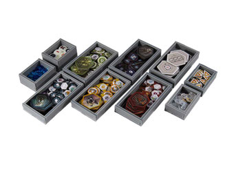 folded space insert organizer anachrony foam core