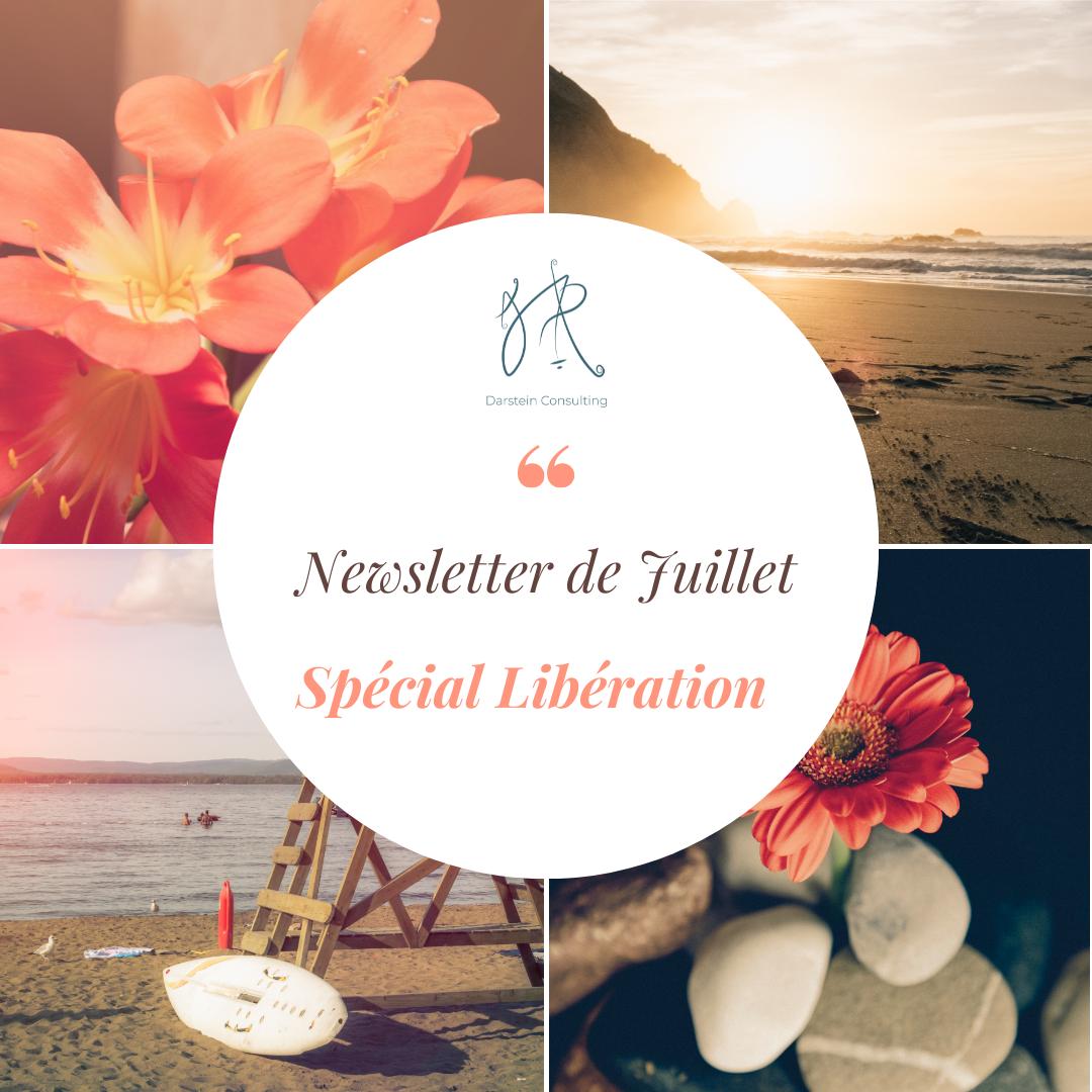 "Newsletter de Juillet 2021 Spécial ""Libération"""