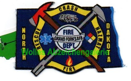Grand Forks AFB Fire CFR