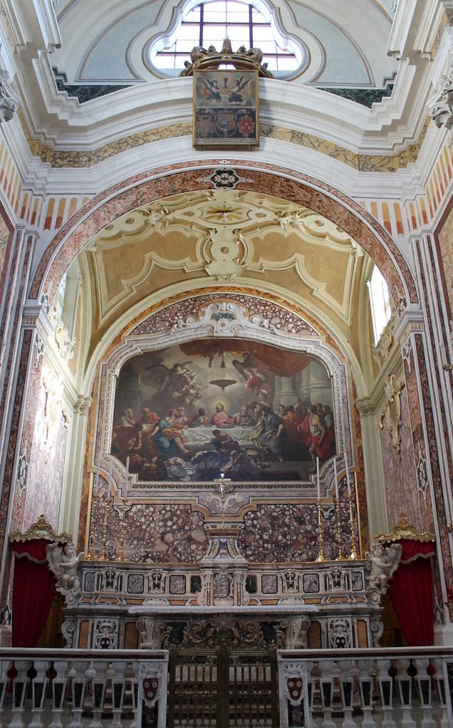 """Basilica Cattedrale """"Maria SS. della Madia"""" - Cappella del SS. Sacramento"""