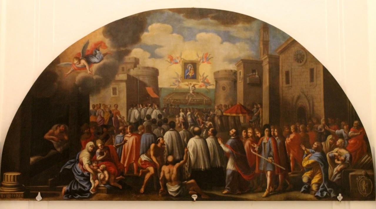 """Basilica Cattedrale """"Maria SS. della Madia"""" - L'approdo della Madonna della Madia"""