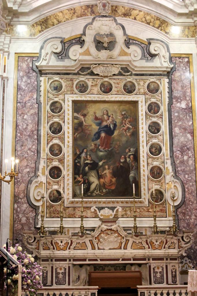 """Basilica Cattedrale """"Maria SS. della Madia"""" - Cappella del Rosario"""