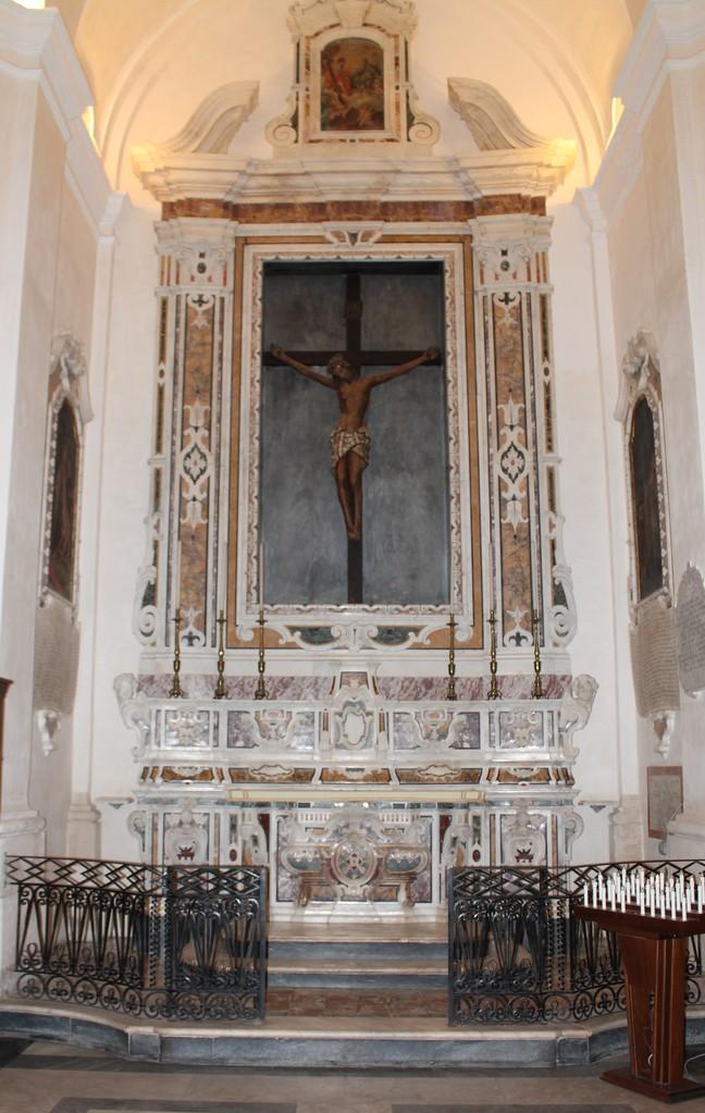 """Basilica Cattedrale """"Maria SS. della Madia"""" - Cappella del Crocifisso"""
