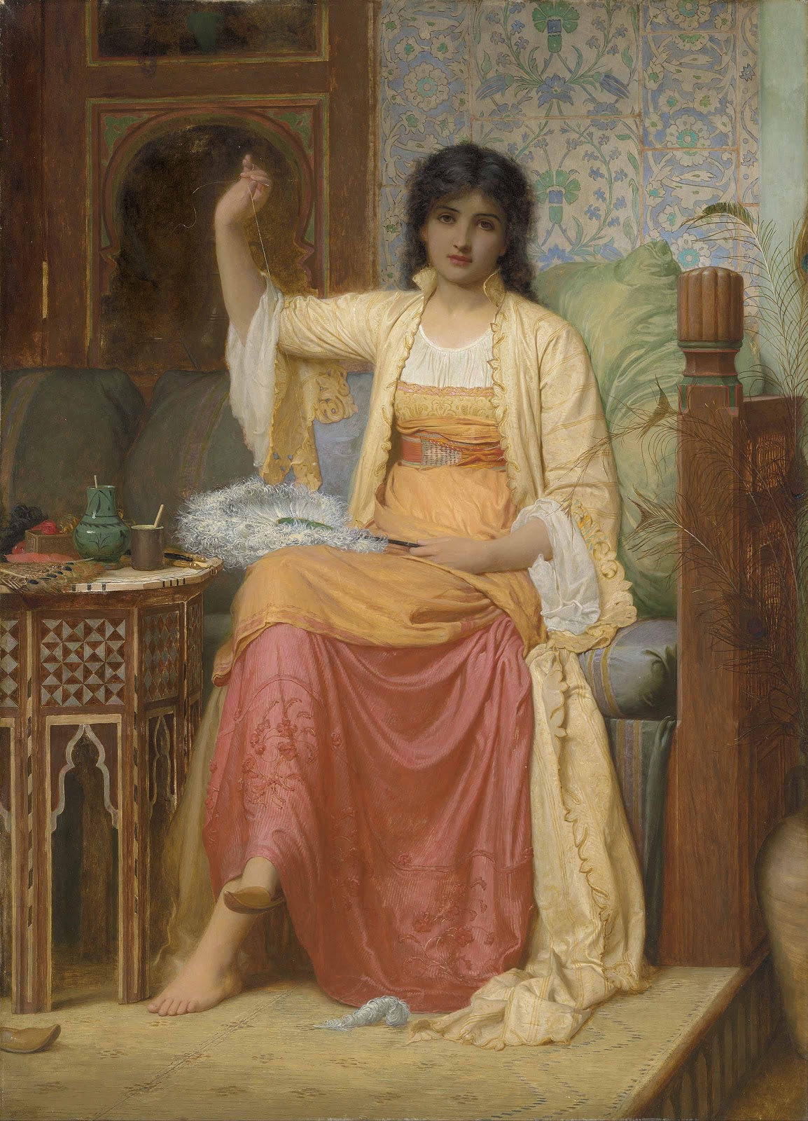 Charles Edward Perugini - A Fanmaker