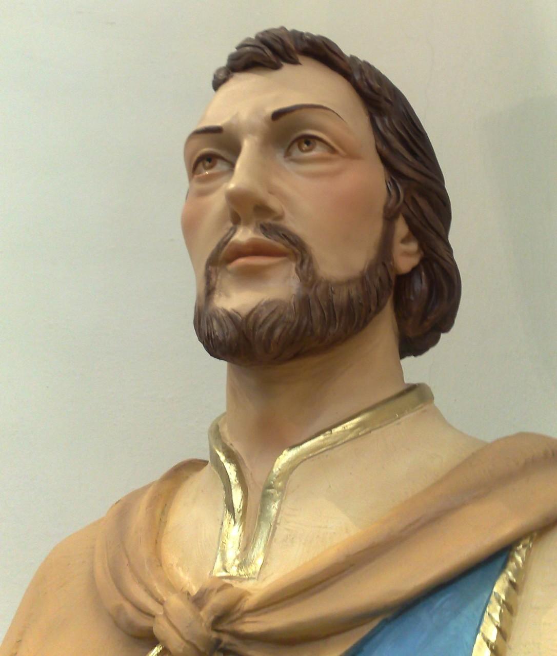 Statua del Santo patrono S. Leonardo