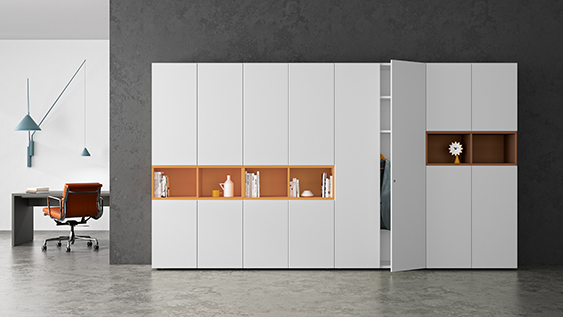 basis S – The clever office cupboard system