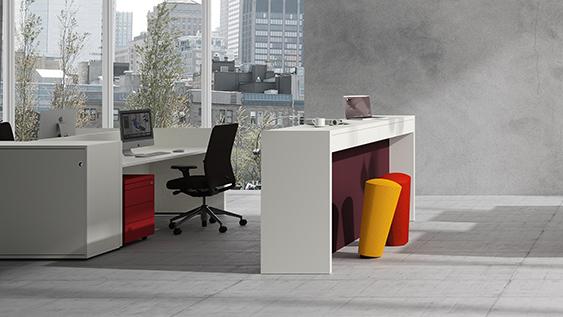 K-Modul Stand - ein Stehtisch für das Büro