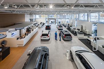 car dealership, E.R.B., Volvo, Hanover