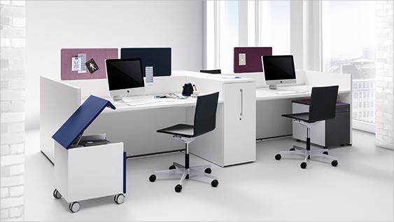 basis S –Das clevere Büroschrank-System