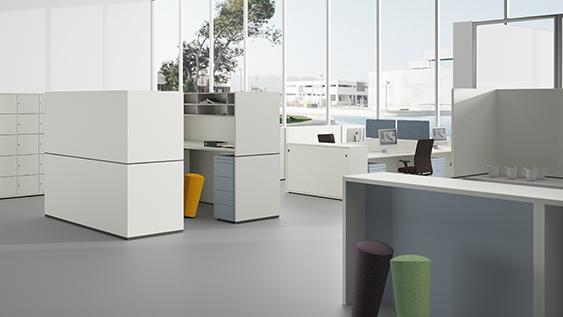 R-Modul - das Raummodul zur Strukturierung von Büroräumen