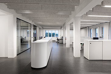 Office furniture Riemser Pharma Greifswald