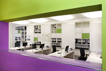 Büromöbel Architekturbüro Peter Heinz