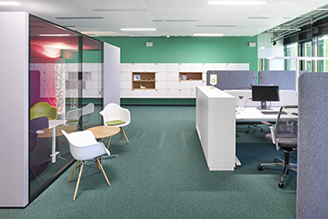 Office furniture Hamburger Volksbank