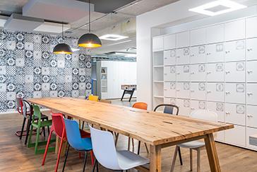 Office furniture Hamburger Volksbank