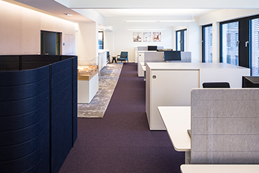 Office furniture Quantum Immobilien AG