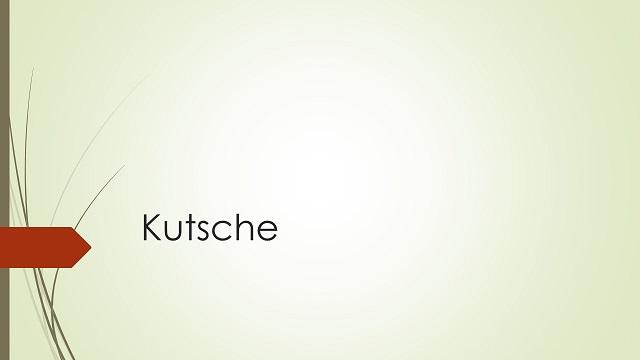 Rubrikenbild Kutsche