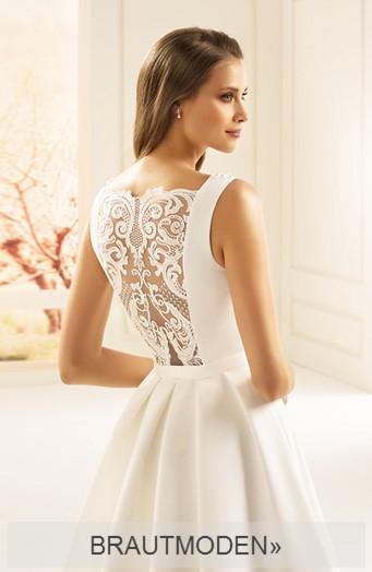 Foto: Brautmoden in romantischer Umgebung in extravagantem Brautkleid
