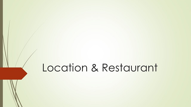 Rubrikenbild Location & Restaurant