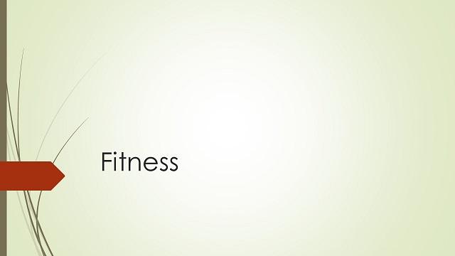 Rubrikenbild Fitness