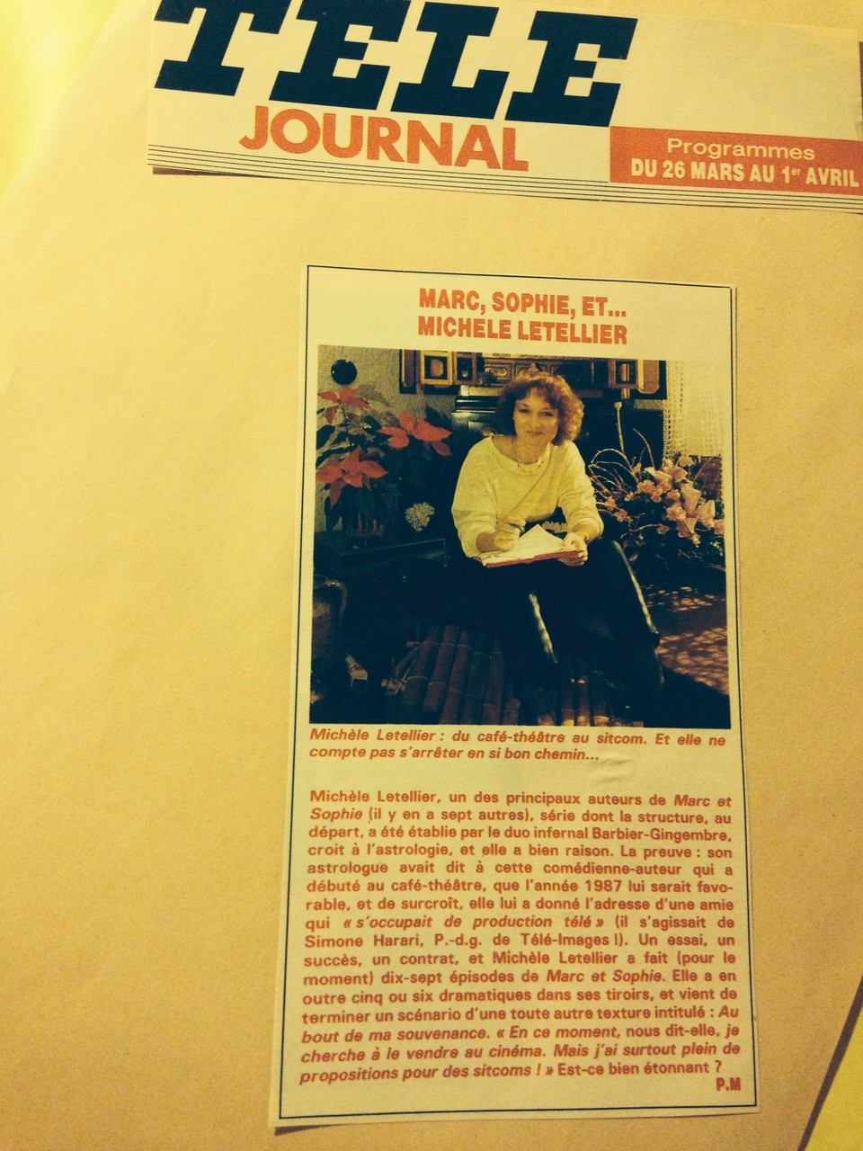 tele journal