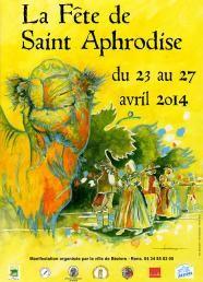 St Aphrodise et son dromadaire, animal totémique de la ville de Béziers.