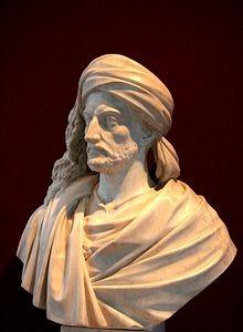Buste de René Caillié par Alexandre Oliva (musée Bernard d'Agesci à Niort).