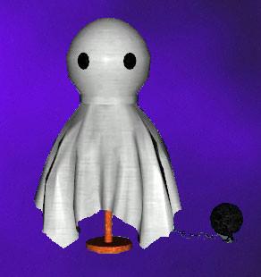 Lampe de table fantôme