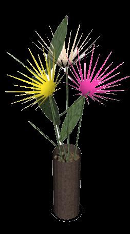 Vase avec fleurs