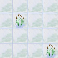roseaux petits carreaux