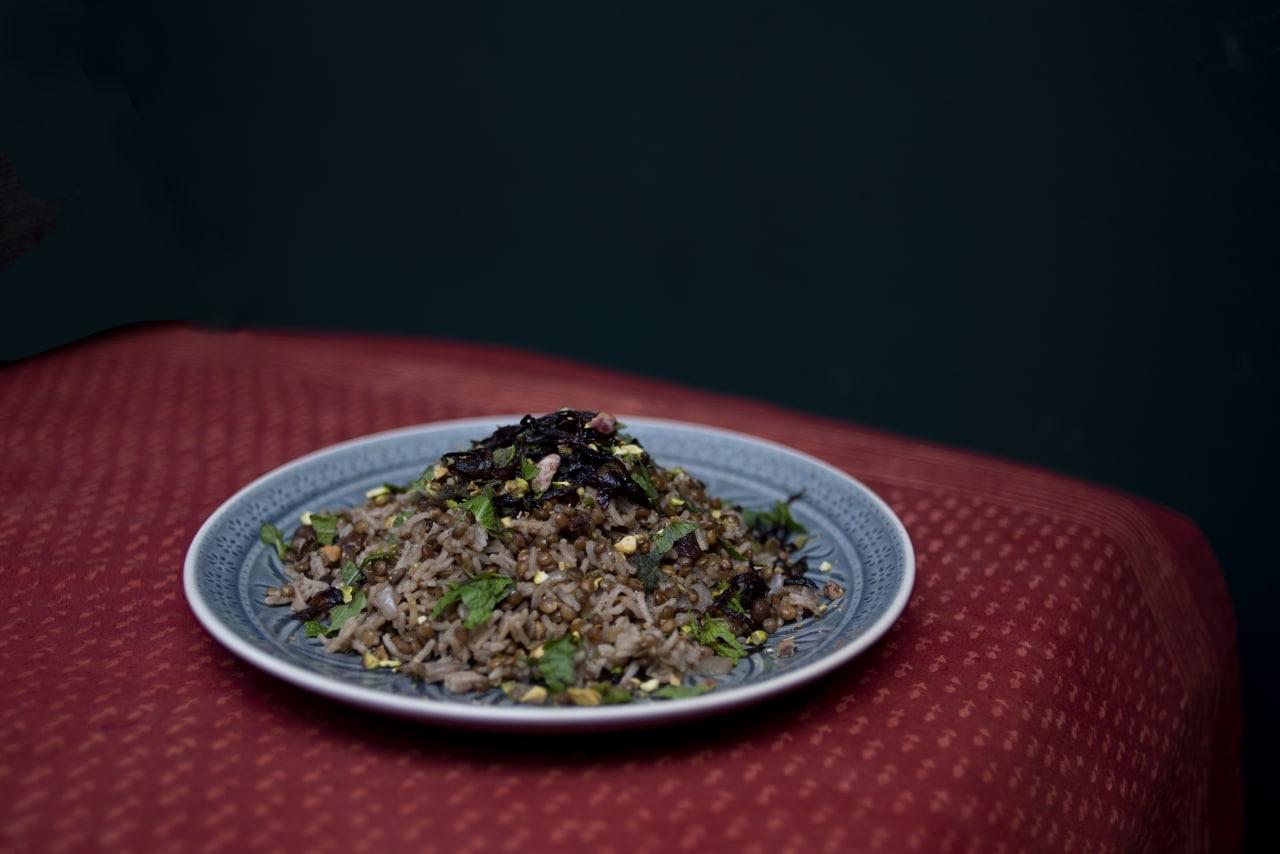 """Das arabische Gericht """"Mujadarra"""": so lecker."""