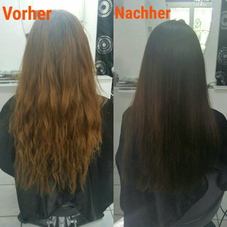 Nach dem Haarefärben gesünderes Haar als vorher 😍