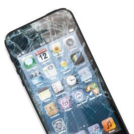 一番多いガラス割れ修理 iPhone修理浜松