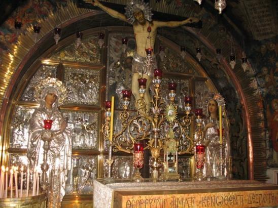 Saint Sépulcre- Golgotha