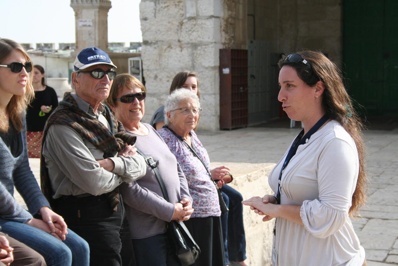Visite d'Israel en famille
