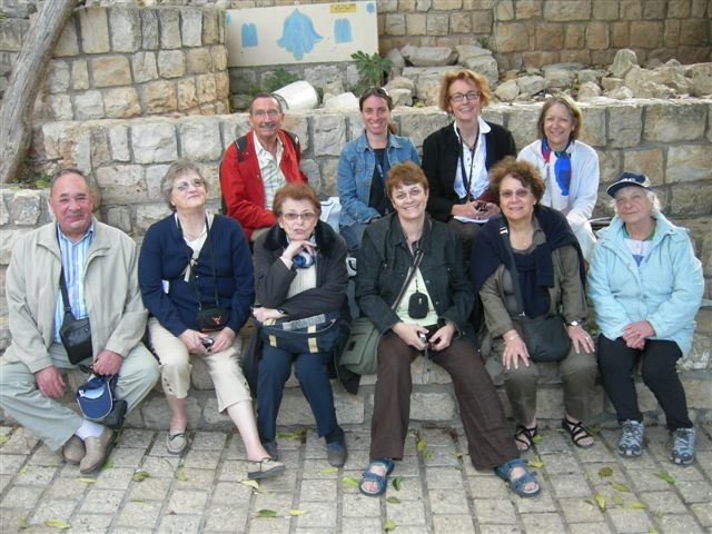 Visite d'Israel