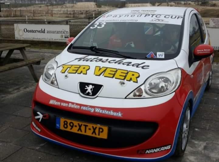 Peugeot 107 PTC cup Roy Haak